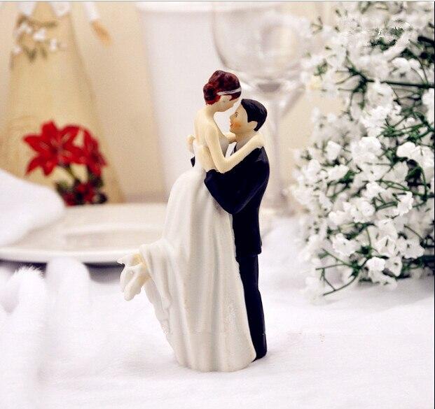Groom Lifting Bride Cake Topper
