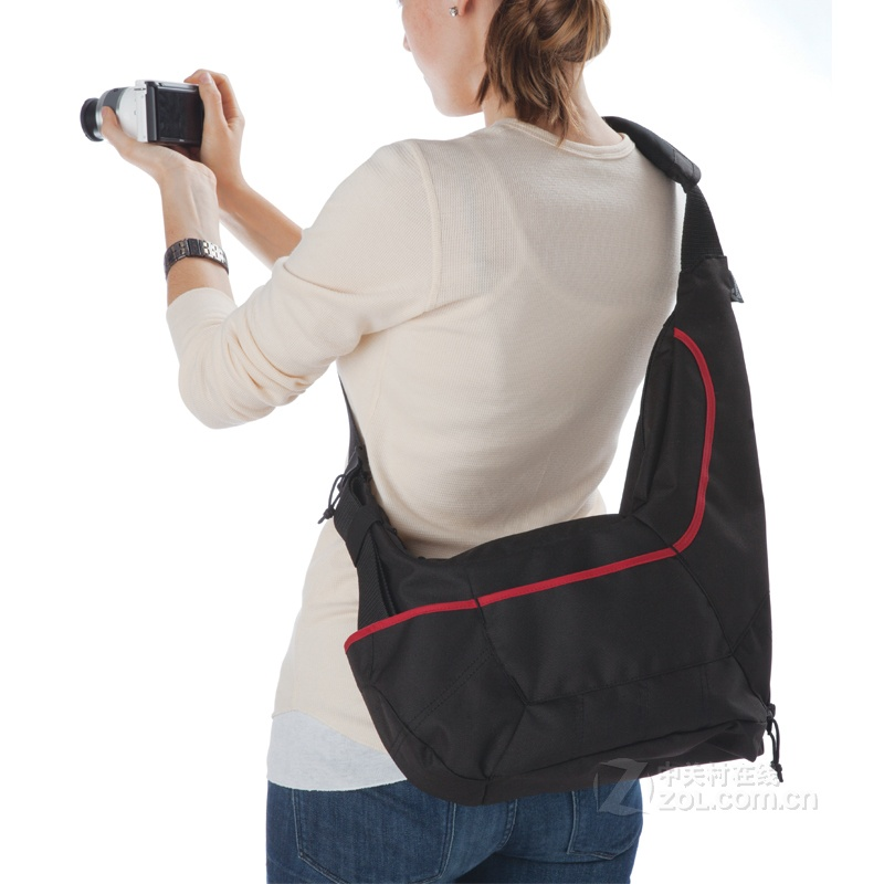 new Lowepro Passport Sling II DSLR Camera Bag Travel Inclined Shoulder Casual Bag wholesale in Camera Video Bags from Consumer Electronics