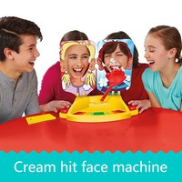 PIE Double Cream Hit Face Pa Pa Machine Table Game Show Face Machine