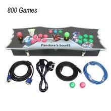 Super Cool Design 800 Games Home Multiplayer Arcade Game Console Kit Set Double Joystick Children Game Console UK Plug