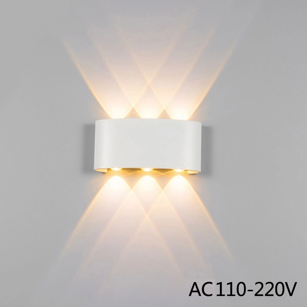 Lighting Basement Washroom Stairs: Modern Led Wall Lamp 2W 4W 6W Wall Sconces Indoor Stair