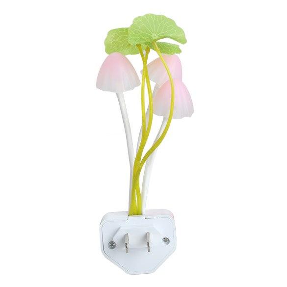 Новые милые Multi-изделие гриб с листьев лотоса Дизайн led праздник Мечта ночь свет лампы clh