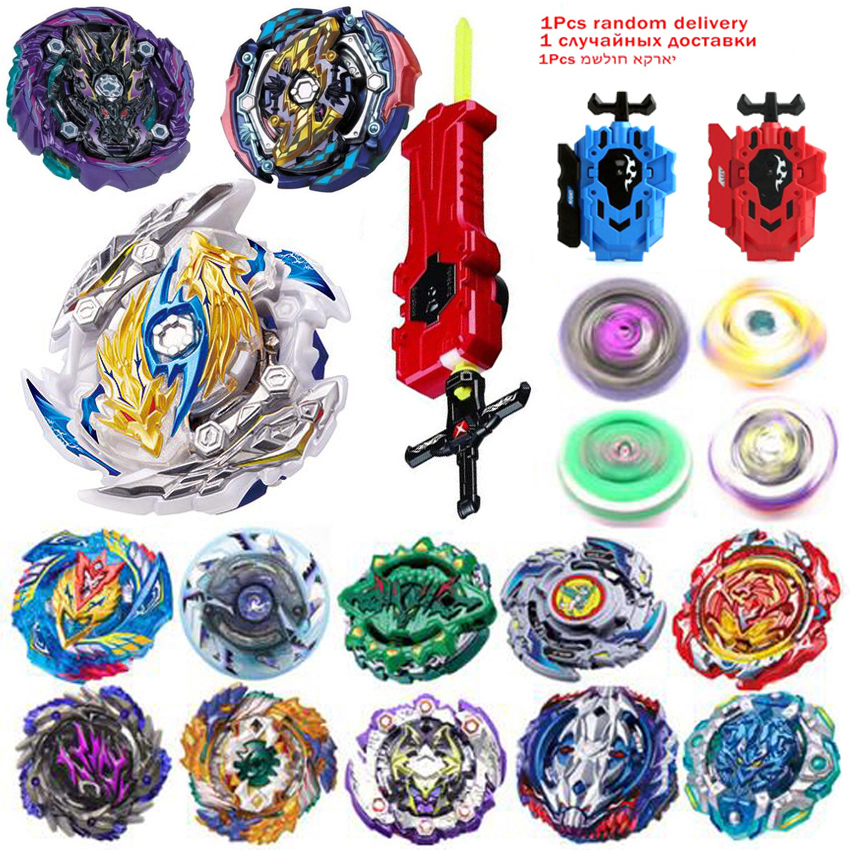 All Models Launchers <font><b>Beyblade</b></font> <font><b>Burst</b></font> GT Toys Arena Metal God Fafnir Spinning Top Bey Blade Blades Toy image