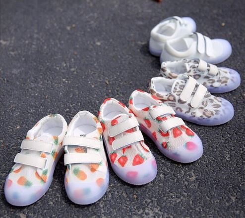 New boys mesh aerated shoes in summer, girls soft solest RT801New boys mesh aerated shoes in summer, girls soft solest RT801
