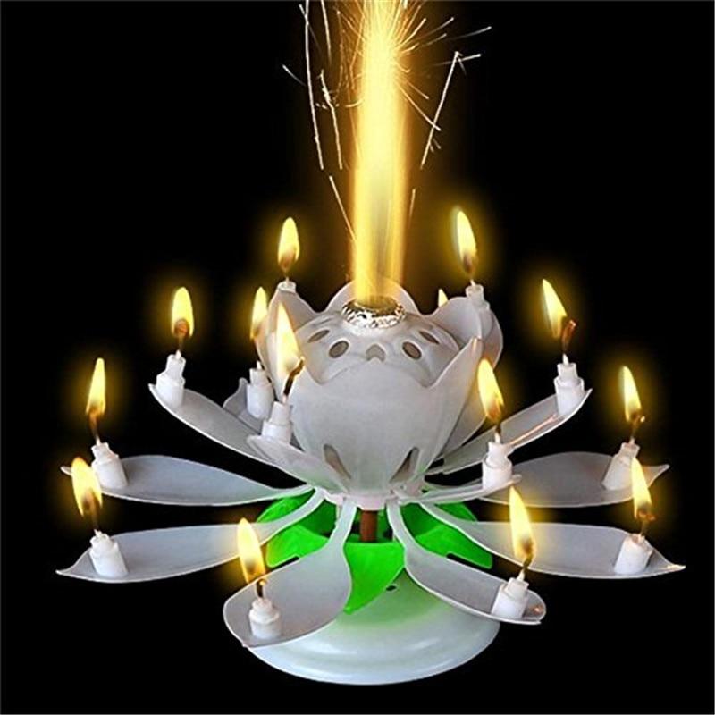 14 ədəd kiçik şam Lotus ilə heyrətləndirici iki - Ev dekoru - Fotoqrafiya 6
