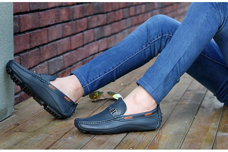 HN 1128 (6) Men`s Casual Loafers Shoe