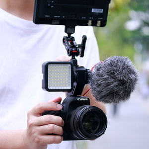 Image 4 - UURig R005 DSLR Camera Top Handle Grip Metallo Adattatore Scarpa Freddo di Montaggio Universale Hand Grip per Sony Nikon Canon con 1/4 3/8 Vite