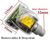 Universal Type 32mm Interface Vacuum Cleaner Accessories Turbo Brush Remove Mites Deep Clean Turbo Brush