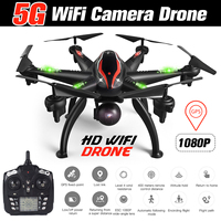 RC Drone GPS 5G WiFi 1080P Camera Drone Smart Follow Mode 6 Axis Gyro Quadcopter Professional 5G WiFi Drone Aerial Photography