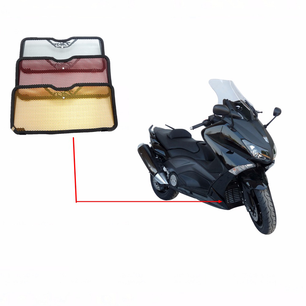 KEMiMOTO For Yamaha TMAX530 T MAX 530 Radiator Grille Guard Protector Cover Motorcycle Accessories TMAX 530 2012 2013 2014 2015 motorcycle accessories new parts transmission belt pulley protective cover blue for yamaha t max 530 tmax530 t max530 2012 2015