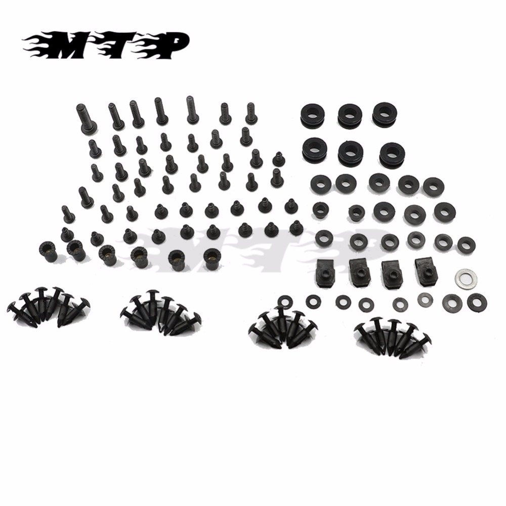 For Suzuki GSXR GSX R 600 750 K8 2008 2009 2010 Complete Fairing Bolt Kit Screws M5 M6