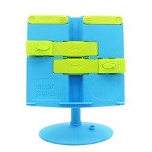 Портативный держатель для книг с поворотом на 360 градусов, подставка для книг с регулируемой высотой, Настольная ручная работа с отверстием для ручек для чтения детей