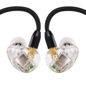 Image 2 - AK חדש MaGaosi K5 5BA כונן יחידה באוזן אוזניות 5 אבזור מאוזן HIFI ניטור אוזניות Headplug עם להחליף כבל MMCX