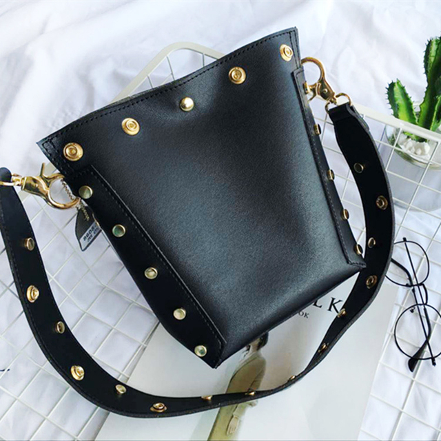 Fashion Rock Style Women Handbag Composite Bags Single Shoulder Cross Body Rivet Totes Casual Daily Shopping Bag Package Purse