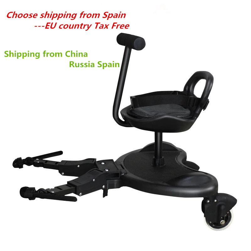 Universal Stroller Accessories Pedal Twins stroller Standing Plate Rider Buggy Board Sibling Board Second Child Artifact