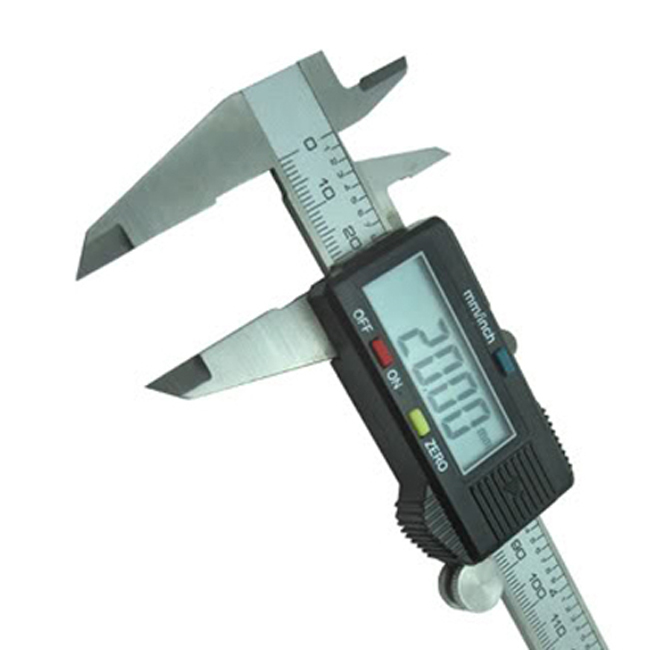 Digital Vernier Caliper Digital Stainless Steel LCD 150mm /0.01 Measure Tool Steel Micrometer Gauge 0 150mm outside micrometer 6pcs set graduation 0 01mm precision measure tool