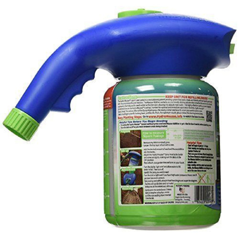 Seed Sprinkler Liquid Lawn System Grass Seed Sprayer Plastic Watering Can Quick And Easy Sprayers With