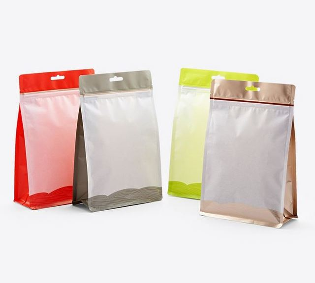 17 26 7cm Punch Packaging Nuts Tea Bags Green Coffee Bean Food Dried Lily