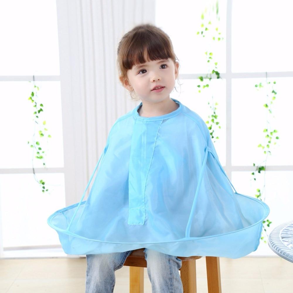 2018 Kids Children Salon Hair Cutting Cape Haircut Cloak Apron Waterproof Clothes  JUN10_17