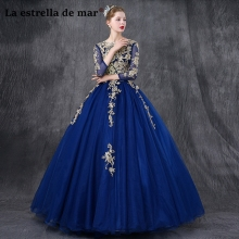 Vestidos de fiesta largos long sleeve prom dresses