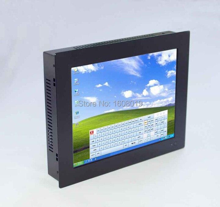 Écran tactile d'ordinateur personnalisé tout en un PC POS Terminal ordinateur pc panneau 2mm avec 2 1000 M Nics 2COM 2G RAM 320G HDD - 4