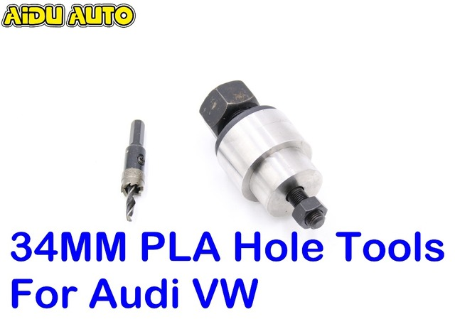 34MM 18MM 21.3MM 23.5MM 26MM 27MM 29MM 31.7MM PLA Auto Parking Sensors hole Tools For Audi VW CARS