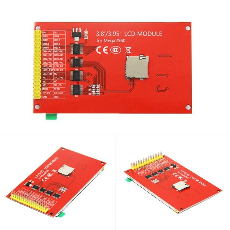 4 0'' 4 Inch TFT LCD Module 320X480 Ultra HD With Touch For Mega2560 Mega  2560 8bit MCU ILI9486 Driver 36PIN 3 3v