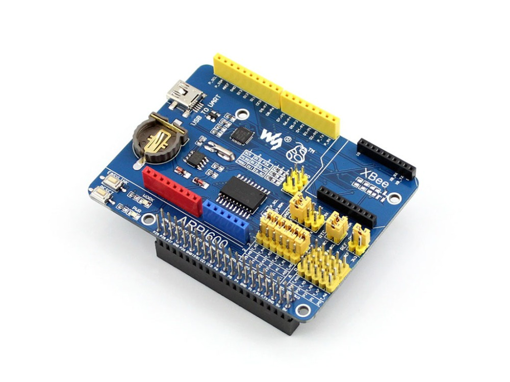 Modules ARPI600 IO Expansion Board for all Raspberry Pi 3 B/2 B for XBee Modules with Various Interface Ease to Use suptronics x series x200 expansion board special board for raspberry pi model b