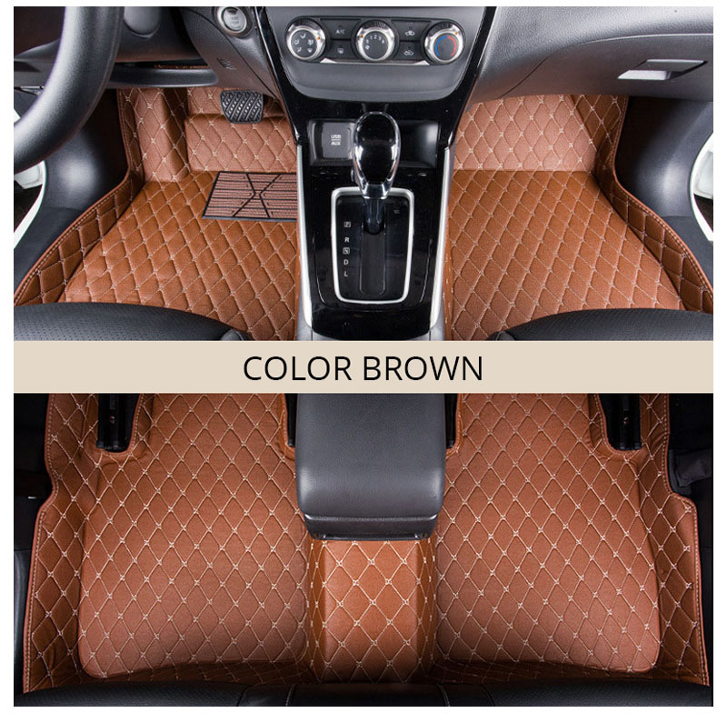 For LHD Hyundai Kona Kauai 2018 2017 Floor Mats Custom Rug Auto Interior Foot Mat Pad Hyundai Encino Car Accessories Car-styling (5)