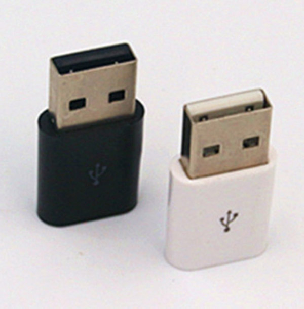 USB 2.0 Micro USB FeMale to USB Male Host OTG Adapter For Android SamSung S7 S6 Google Nexus Phones OR Smart Tablets