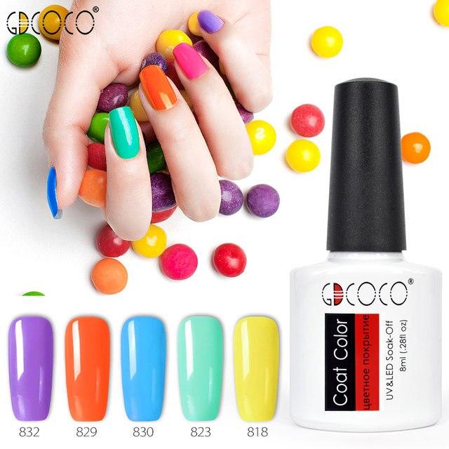 #70312 Venalisa Manicure 50Color Nail Salon Hot Sale Nail Polish 8ml Soak Off UV/LED Gel Nail Lacquer Gel Enamel Polish Varnish