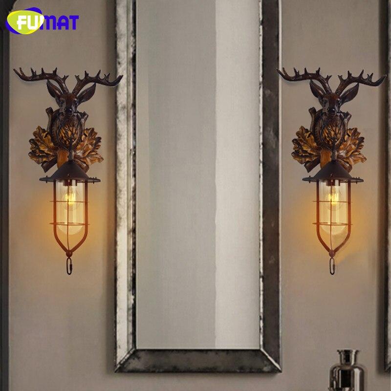 Deer Head Wall Lamp 12