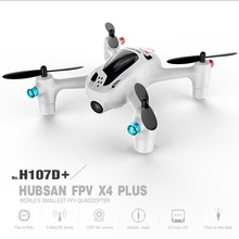 (In stock ) Original Hubsan FPV X4 Plus H107D+ with 720P HD Camera 6-axis Gyro RC Quadcopter RTF