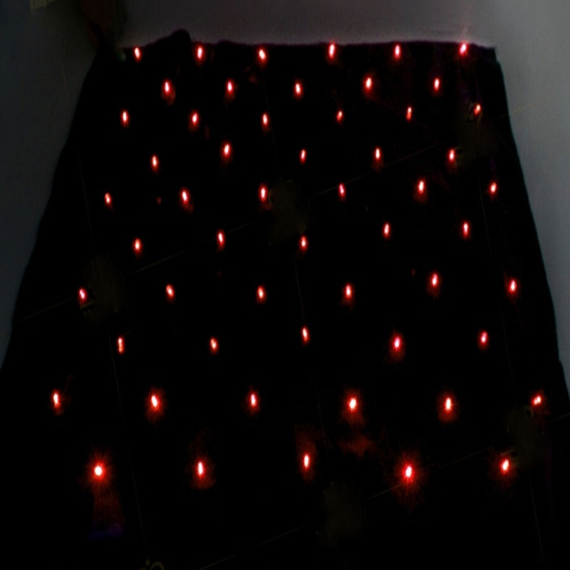 Blendo Sac Avec Rouge Lumières Magie Des Tours de Produire de la Lumière Magie Stade Illusion Accessoires Gimmick Props Mentalisme Drôle En Gros