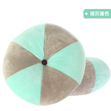 Solid Round Shape Pillow Doll Toy Throw Pillow Creative Lovely Cute 2 styles 40*12cm Poly Propylene travel pillow Cushion