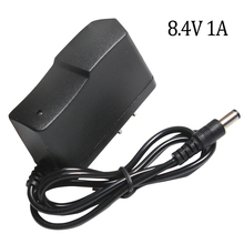 8.4 V 1A Carica Batterie Al Litio 7.4 V 1A US Plug 110 220 V Al Litio Battery Charger DC 5.5*2.1 MILLIMETRI