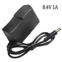 8.4 V 1A chargeur de batterie au Lithium 7.4 V 1A US Plug 110 220 V chargeur de batterie au Lithium DC 5.5*2.1 MM