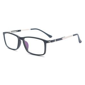 Image 1 - Reven Jate lunettes en acétate 98180, monture de lunettes souple, haute qualité, monture monture de lunettes de vue pour hommes et femmes