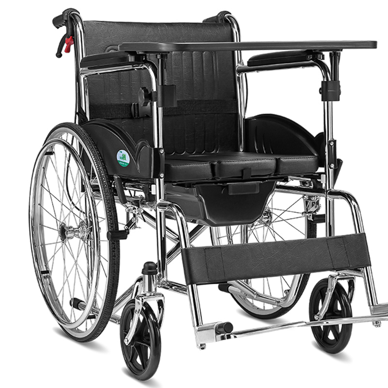 где купить Portable Folding Cofoe Yiwen Wheelchair Trolley Travel Scooter with Pedestal Pan Multi Function for Old People the Disabled по лучшей цене