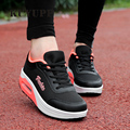 Fashion Shoes Woman Platform Mesh Casual Shoes Slimming Wedges Ladies Swing Shoes Summer Outdoor Walking Shoes Footwear ZD17