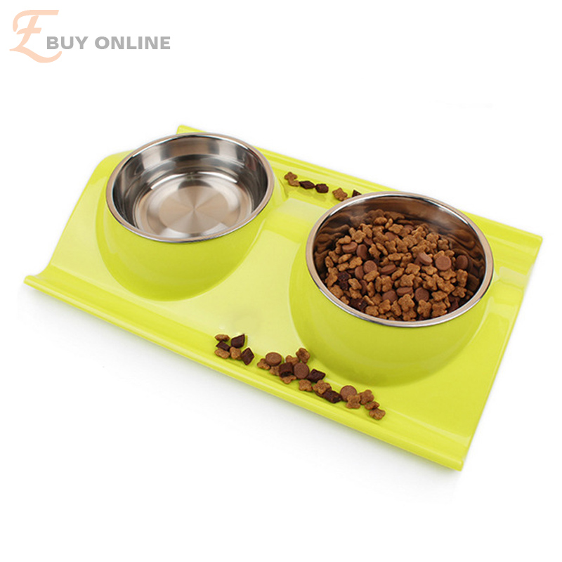 high quality eco friendly pp material pet dog and cat water and food storage bowl splash proof. Black Bedroom Furniture Sets. Home Design Ideas