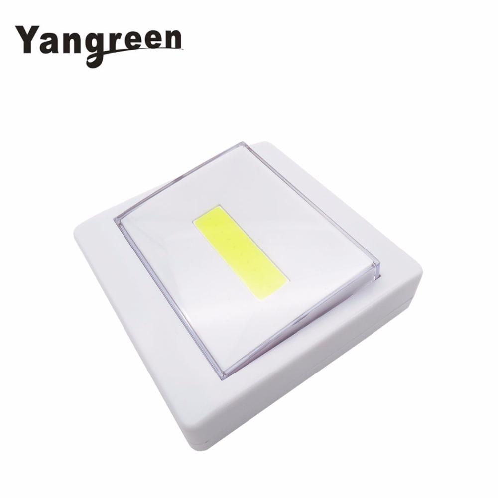 New Arrival Magnet COB LED Night Light Battery Powered Emergency Lamp Kitchen Corridors  ...