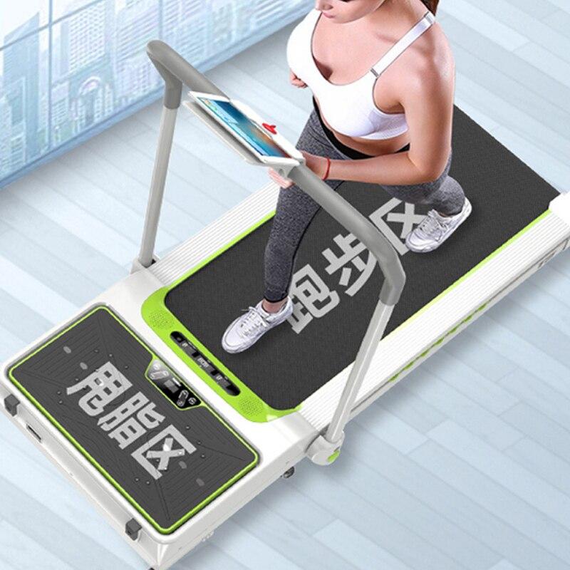 Tapis roulant électrique intelligent de tapis roulant avec la machine amincissante mini simulateurs à la maison pour l'équipement de forme physique d'intérieur à la maison - 4