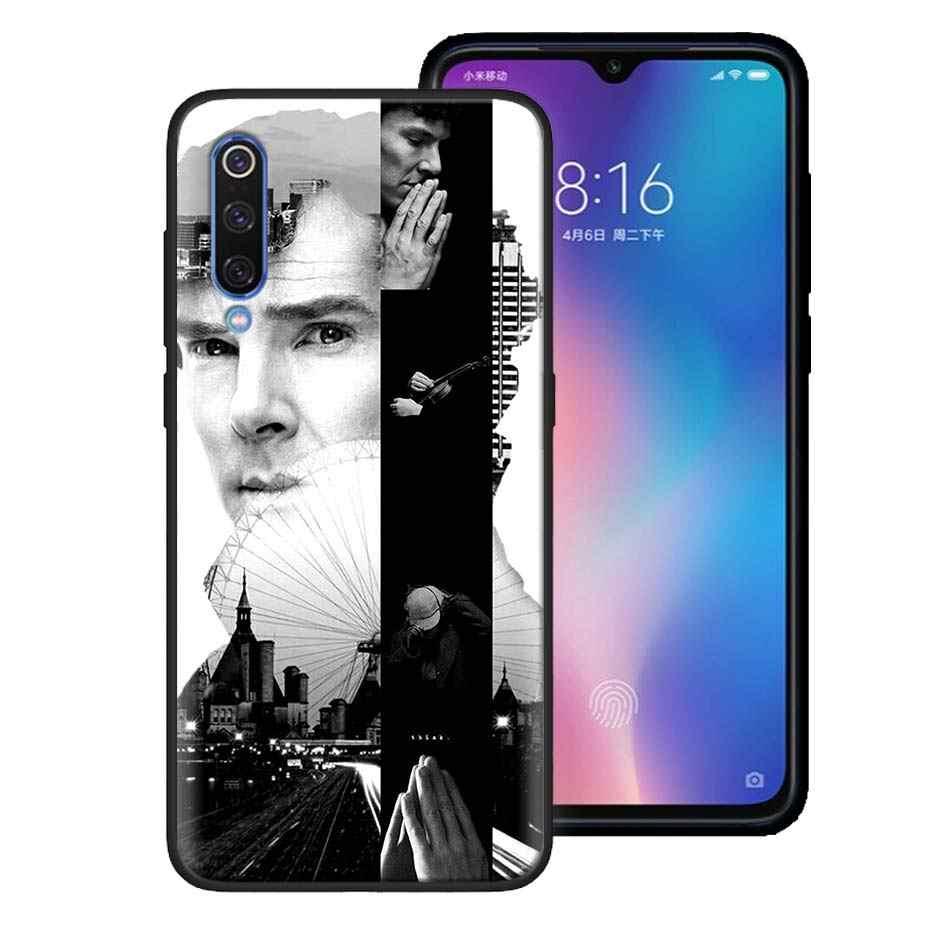 Je suis Sherlock Holmes étui souple pour téléphone Xiaomi Redmi Note 8 8T 9S 9 10X 4G K20 K30 Pro K30i 5G 6 7 8A housse en Silicone noir