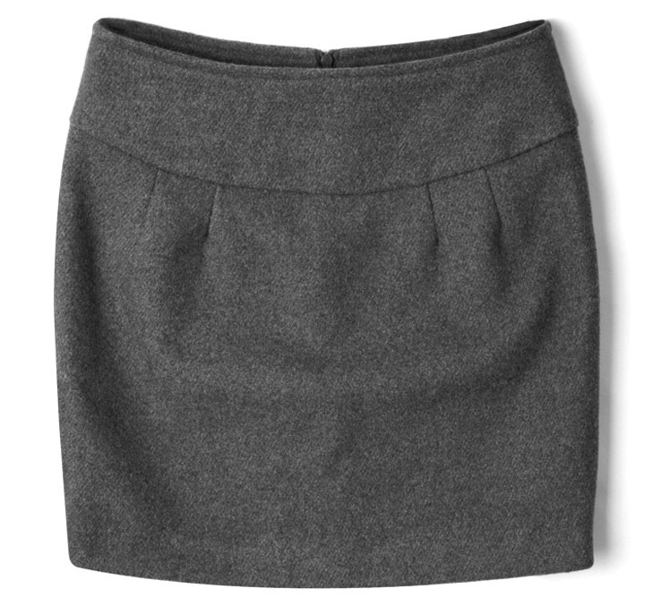 429119737 Winter Women Wool Thick Tight Pencil Skirt Casual Color Fadeless ...