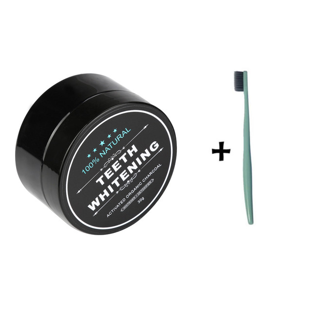 Teeth Whitening Powder Natural Organic Activated Charcoal