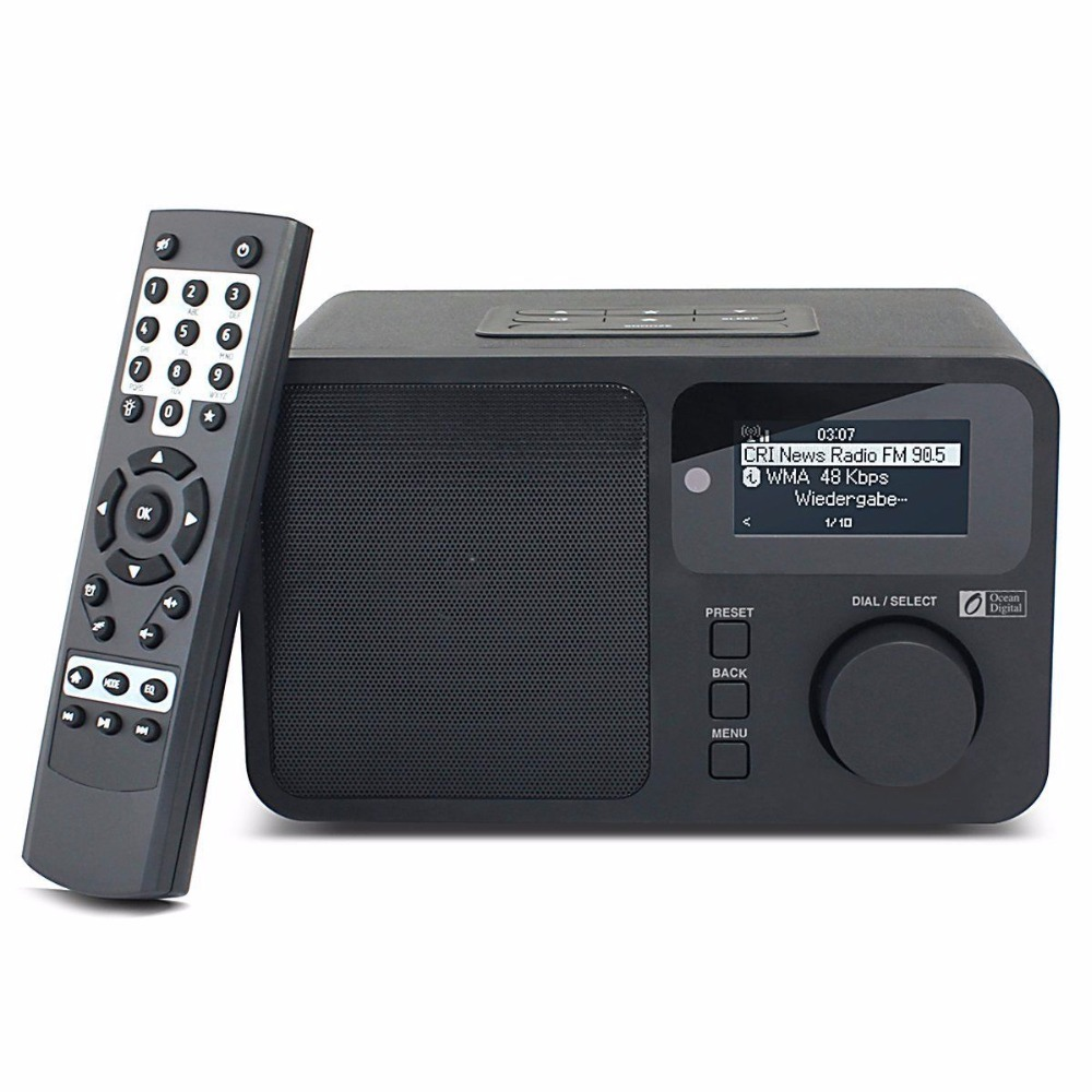 Oceano Digitale WR232 Internet WiFi Radio WLAN Wireless Multimedia speaker Musica Radio