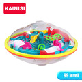 19CM  99 Steps 3D puzzle Ball Magic Intellect Ball educational toys Puzzle Balance IQ Logic Ability Game For Children adults