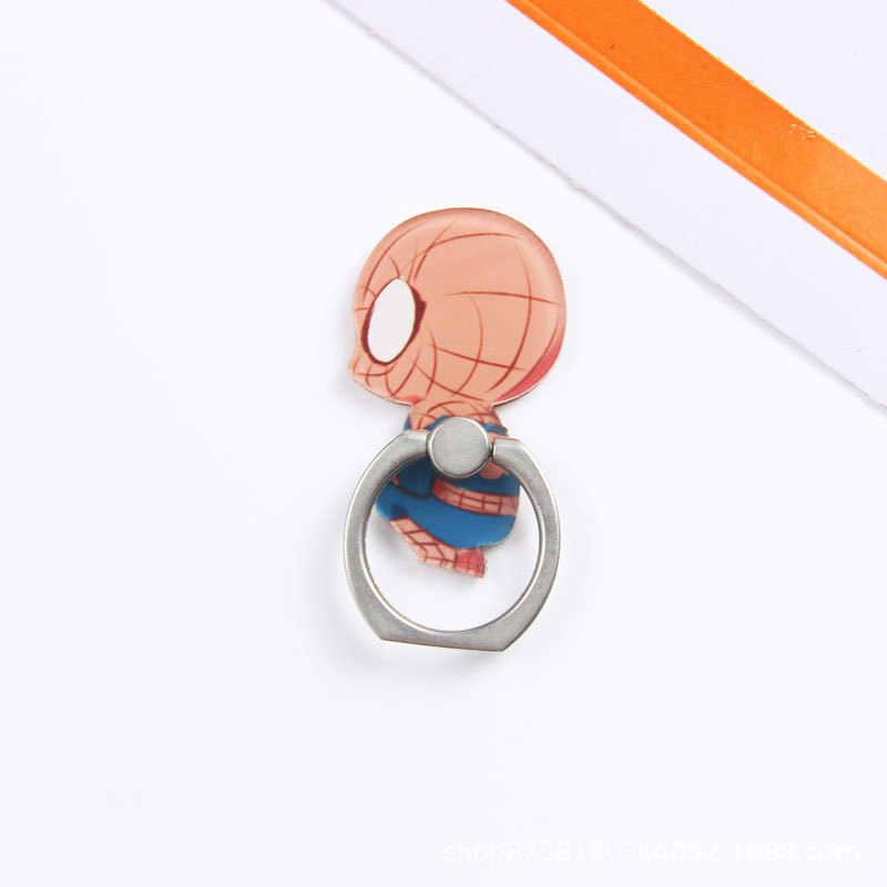 אוניברסלי מתכת חמה אצבע טבעת נייד טלפון סלולרי חמוד קריקטורה מחזיק טלפון stand עבור iPhone 6s 7 8 בתוספת X סוגר בעל