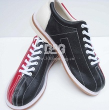 free shipping  unisex professional leather  rental bowling shoes